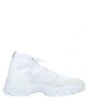 Кеды и кроссовки TOD'S. Цвет: белый