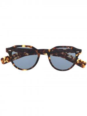 Солнцезащитные очки в оправе кошачий глаз Eyevan7285. Цвет: коричневый