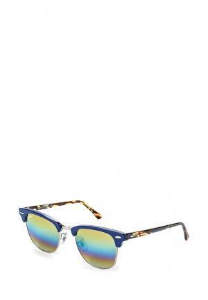 Очки солнцезащитные Ray-Ban® RB3016 1223C4. Цвет: синий