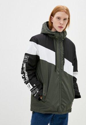Куртка утепленная Befree. Цвет: разноцветный