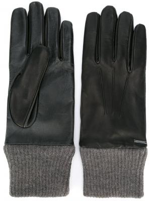 Перчатки Girib-Male Diesel. Цвет: чёрный
