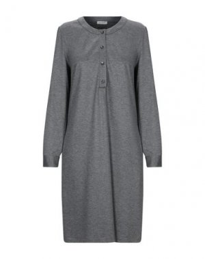 Короткое платье CAPPELLINI by PESERICO. Цвет: свинцово-серый