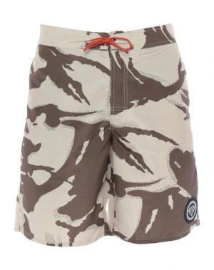 Пляжные брюки и шорты IUTER. Цвет: зеленый-милитари