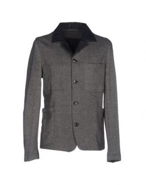 Пиджак CARE LABEL. Цвет: свинцово-серый