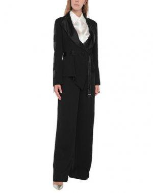 Классический костюм GATTINONI. Цвет: черный