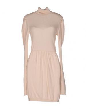 Короткое платье BETTY BLUE. Цвет: светло-розовый