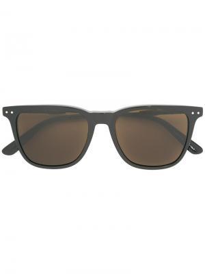 Солнцезащитные очки с квадратной оправой Bottega Veneta Eyewear. Цвет: чёрный
