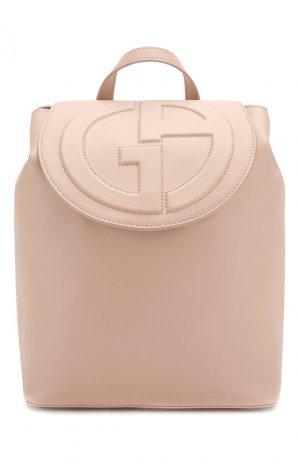 Рюкзак Giorgio Armani. Цвет: розовый