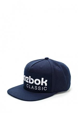 Бейсболка Reebok Classics CL FOUNDATION CAP. Цвет: синий