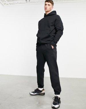 Черные джоггеры премиум-класса x Pharrell Williams-Синий adidas Originals