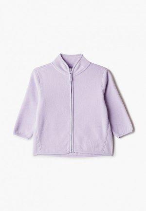 Олимпийка Sela. Цвет: фиолетовый