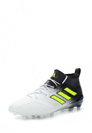 Бутсы adidas AD094AMUOS45. Цвет: белый