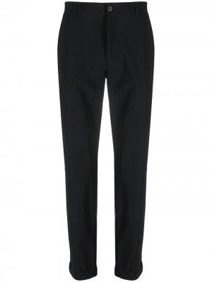 Узкие брюки строгого кроя Hydrogen. Цвет: черный