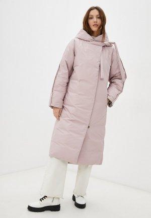 Пуховик Снежная Королева BSW2DC718. Цвет: розовый