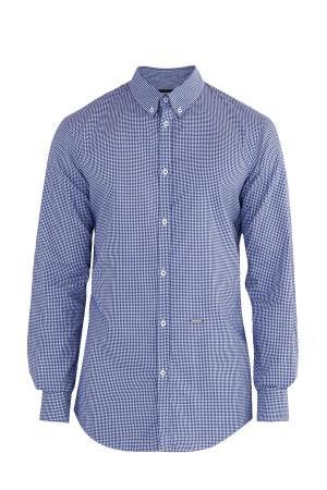 Рубашка DSQUARED2. Цвет: синий