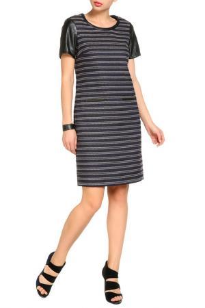 Платье Marks & Spencer. Цвет: blue mix