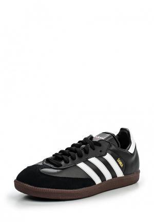 Бутсы зальные adidas SAMBA. Цвет: черный