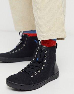 Походные ботинки на шнуровке -Черный Birkenstock
