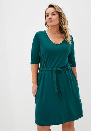 Платье Junarose. Цвет: зеленый
