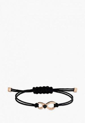 Браслет Swarovski® Swa Infinity. Цвет: черный