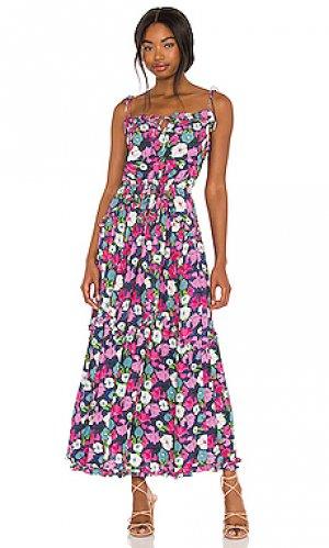 Платье dynamic SWF. Цвет: navy,pink