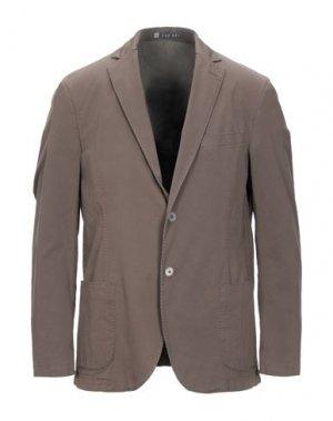 Пиджак LAB 001. Цвет: коричневый