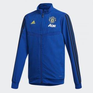 Парадная куртка Манчестер Юнайтед Performance adidas. Цвет: черный