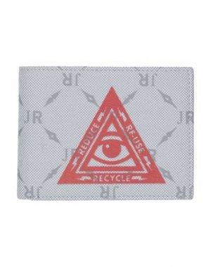 Бумажник JOHN RICHMOND. Цвет: светло-серый