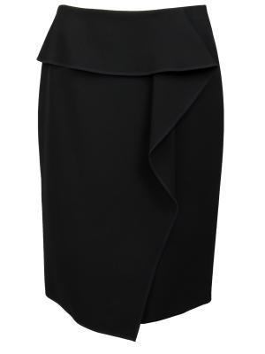 Мини-юбка с драпировкой BOSS
