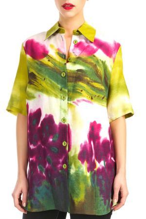 Блуза Doris Streich. Цвет: мультицвет