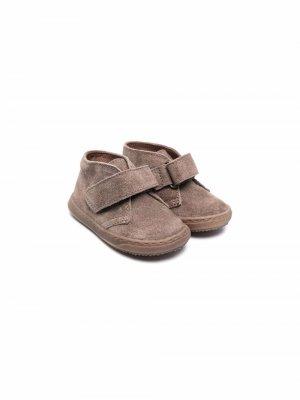 Ботинки по щиколотку Pèpè. Цвет: коричневый
