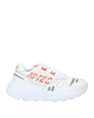 Низкие кеды и кроссовки HI-TEC. Цвет: белый