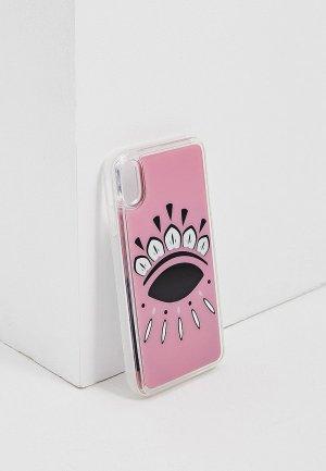Чехол для iPhone Kenzo Xs Max. Цвет: розовый
