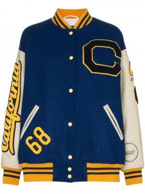 Куртка-бомбер с контрастными нашивками Calvin Klein 205W39nyc