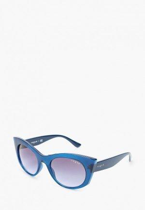Очки солнцезащитные Vogue® Eyewear VO5312S 27964Q. Цвет: синий