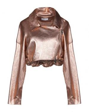 Куртка JITROIS. Цвет: медный