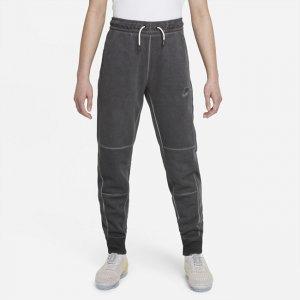 Брюки из ткани джерси для школьников Sportswear - Черный Nike