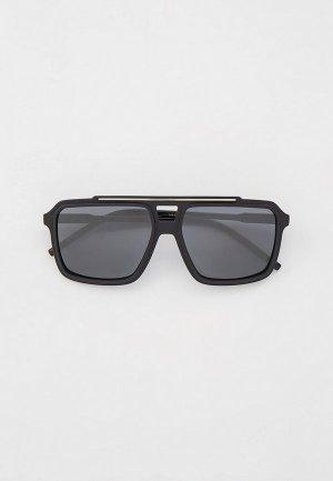 Очки солнцезащитные Dolce&Gabbana DG6147 31016G. Цвет: черный