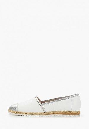 Эспадрильи Giotto. Цвет: белый