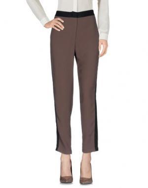 Повседневные брюки 8PM. Цвет: хаки