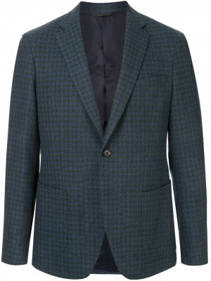 Durban однобортный пиджак D'urban. Цвет: синий