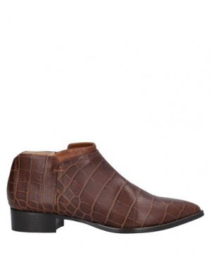 Ботинки ALBERTO FERMANI. Цвет: темно-коричневый