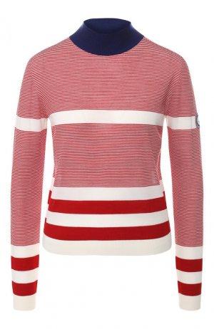 Шерстяной пуловер Giorgio Armani. Цвет: красный