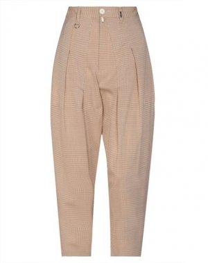 Повседневные брюки HIGH. Цвет: верблюжий