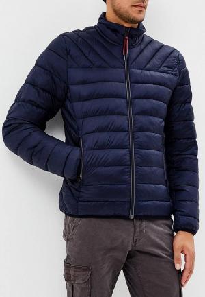 Куртка утепленная Napapijri AERONS. Цвет: синий