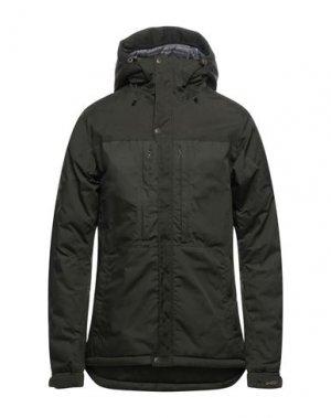 Куртка FJALLRAVEN. Цвет: зеленый-милитари