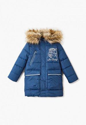 Куртка утепленная Boom. Цвет: голубой