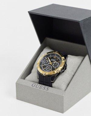 Часы с хронографом золотистой отделкой -Золотой Guess