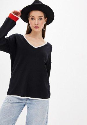 Пуловер Tezenis. Цвет: черный
