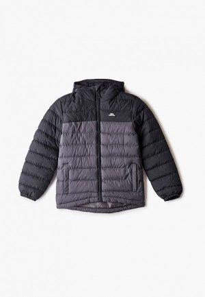 Куртка утепленная Trespass. Цвет: серый